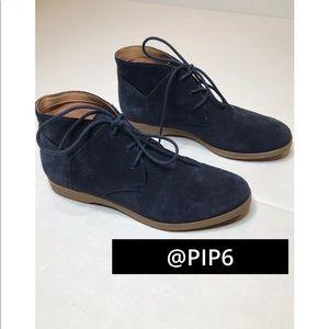 Dark Blue Franco Sarto boots. Size 6.5.